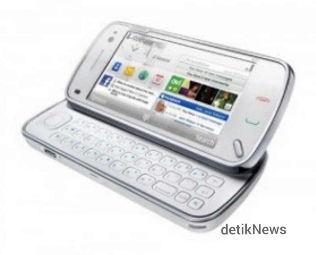 Nokia N97  Hendak Menjegal iPhone Justru Malah Terkapar